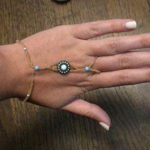 Beautiful hand bracelet/ring